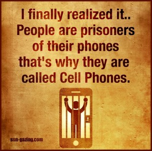 Cell phone ...