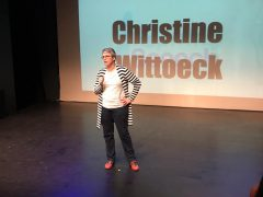 Inspiring speech-Christine Wittoeck
