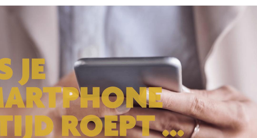 Als je smartphone altijd roept – SOCMUT online  (jul-aug 2019)